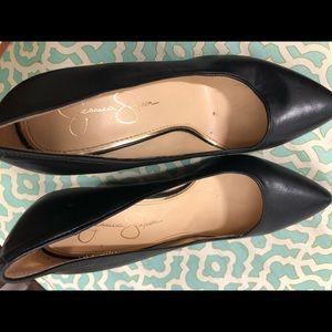 "Jessica Simpson 4"" wedge heels"
